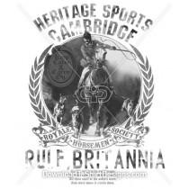 Polo Horse Sport Collegiate Crest