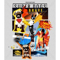 Superheros Dogs Costume Cape