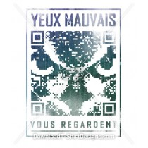 Owl QR Code Pixelated