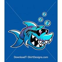 Cool Sunglasses Tough Shark