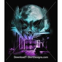 Galactic Dark Moon Skull City Alley