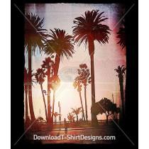 Beach Side Escape Palm Photo Landscape