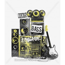 Beats Bass Guitar Speaker Stack