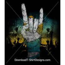 Zombie Music Rock Concert