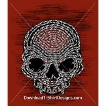 Bike Chain Skull