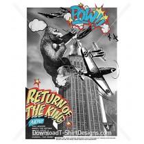 Pop Art Comic Gorilla Poster