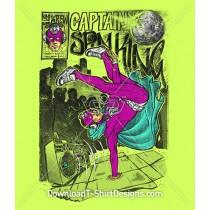 Break Dance Comic Captain Spin King