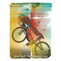 Live To Ride BMX Bike Sport