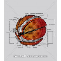Mechanical Basketball Parts Diagram