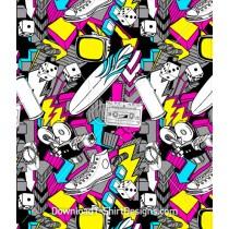 Shoe Dice Music Tape Skateboard