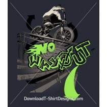 BMX Rider No Way Out
