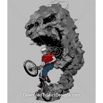 BMX Bike Boy Monster Dust Wheelie