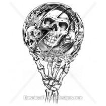 Skull Ball Skeleton Hand