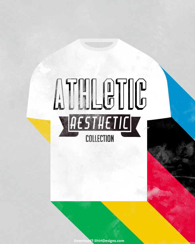 Athletic aesthetic t shirt inspiration download t shirt for Athletic t shirt design ideas