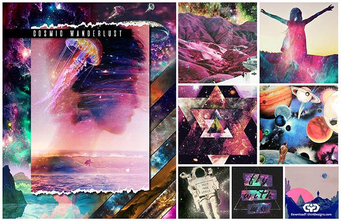 downloadt-shirtdesigns-cosmic wanderlust t-shirt trend 2017