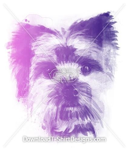 Cute Puppy Dog Animal Watercolor