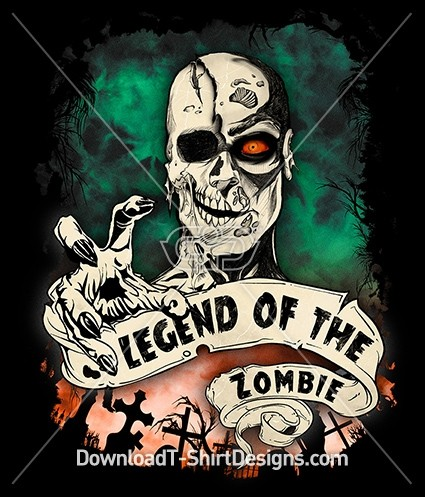 Scary Legend of the Zombie Graveyard
