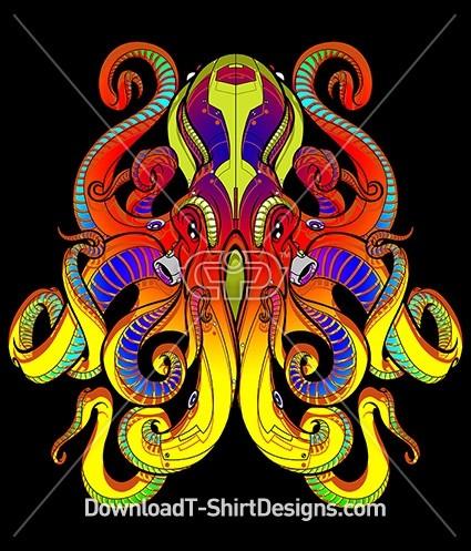 Alien Octopus Sea Monster