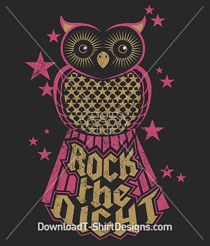 Rock the Night Owl Stars