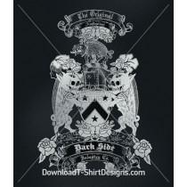 Hog Shield Rose Crest
