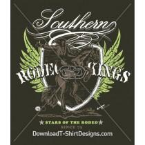 Cowboy Horse Rider Shield