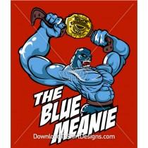 The Blue Meanie Wrestler Champion