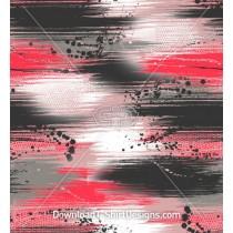 Paint Brush Stripes Drips Seamless Pattern