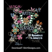 Decorative Vintage Floral Arte Clasico
