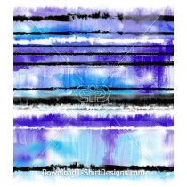 Water Paint Smudge Blur Stripes Seamless Pattern