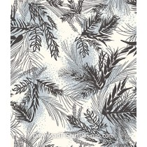 Leaves Branches Plant Spots Seamless Pattern