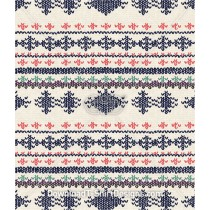 Stripe Jacquard Winter Knit Texture Seamless Pattern