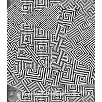 Spliced Optical Illusion Seamless Pattern