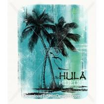 Vintage Hula Hideout Palm