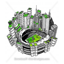 3D Athletic Sports Stadium