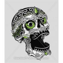 Decorative Calavera Candy Skull