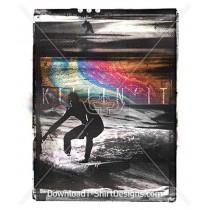 Killin It Holographic Grunge Surfer