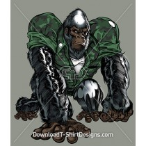 Tough Army Gorilla Animal Camoflauge