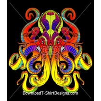 Alien Octopus Sea Monster