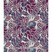 Ethnic Paisley Festival Seamless Pattern