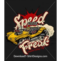 Retro Speed Freak Rally Car Race Driver
