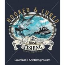 Hooked & Lured Deep Sea Fishing Sword Fish