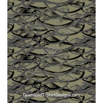 Abstract Army Camouflage Seamless Pattern