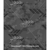 Army Camouflage Seamless Pattern