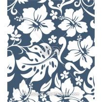 Tropical Hawaiian Hibiscus Seamless Pattern