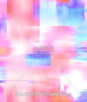 Pastel Abstract Geometric Blur Seamless Pattern
