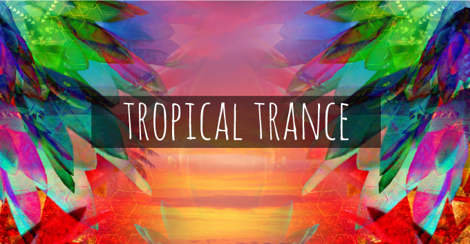 T-Shirt Design Trend Direction - Tropical Trance
