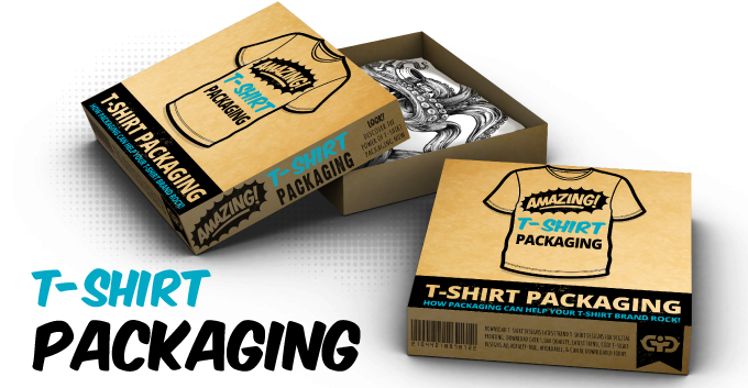 Cool and Creative T-shirt Packaging Designs