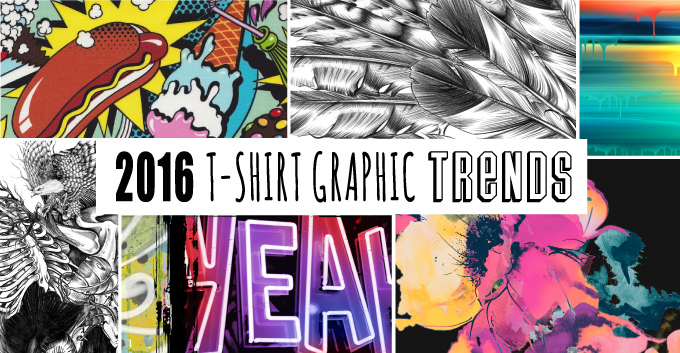 9 Hot T-Shirt Graphic Trends For 2016