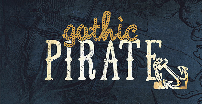 T-Shirt Design Trend - Gothic Pirate