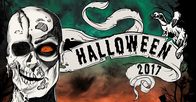 Creepin' it Real - 2017 Halloween T-Shirt Designs